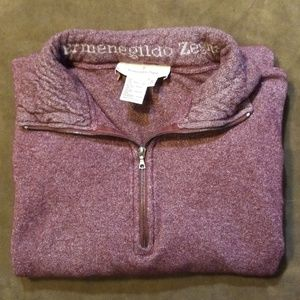 Ermenegildo Zegna 1/4 Zip Sweater